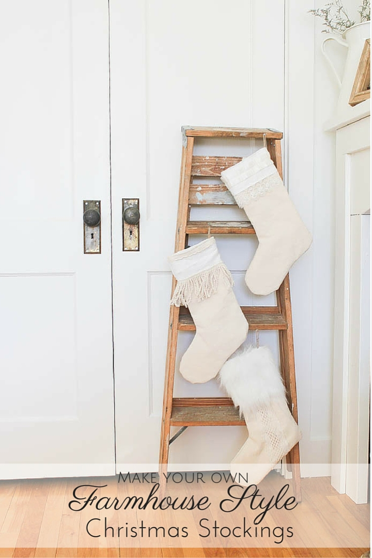 these lovely farmhouse style christmas stockings are not only adorable but you wonu0027t