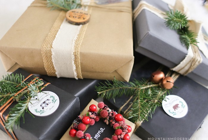 Creative Rustic Christmas Wrapping