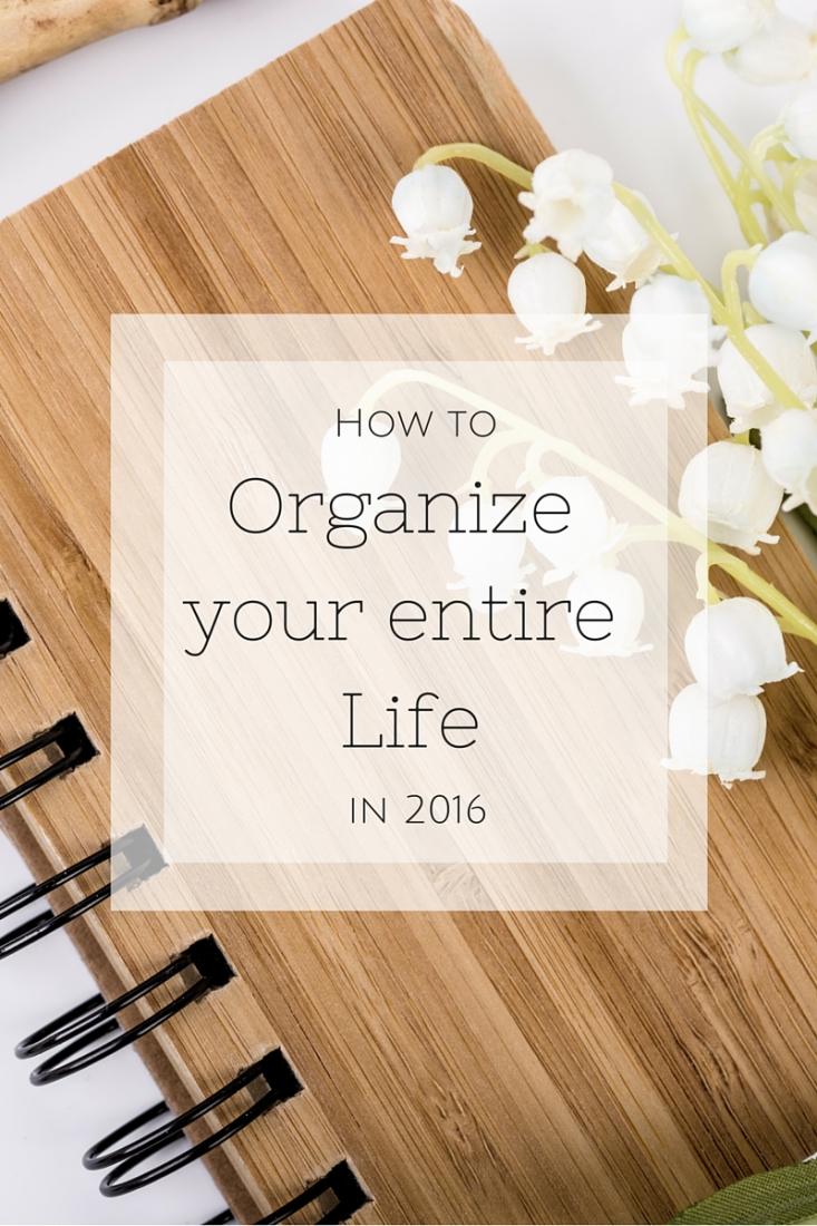 Are you looking to live a more organized life this year? See how I've learned to manage the chaos with a clear head and a happy heart.