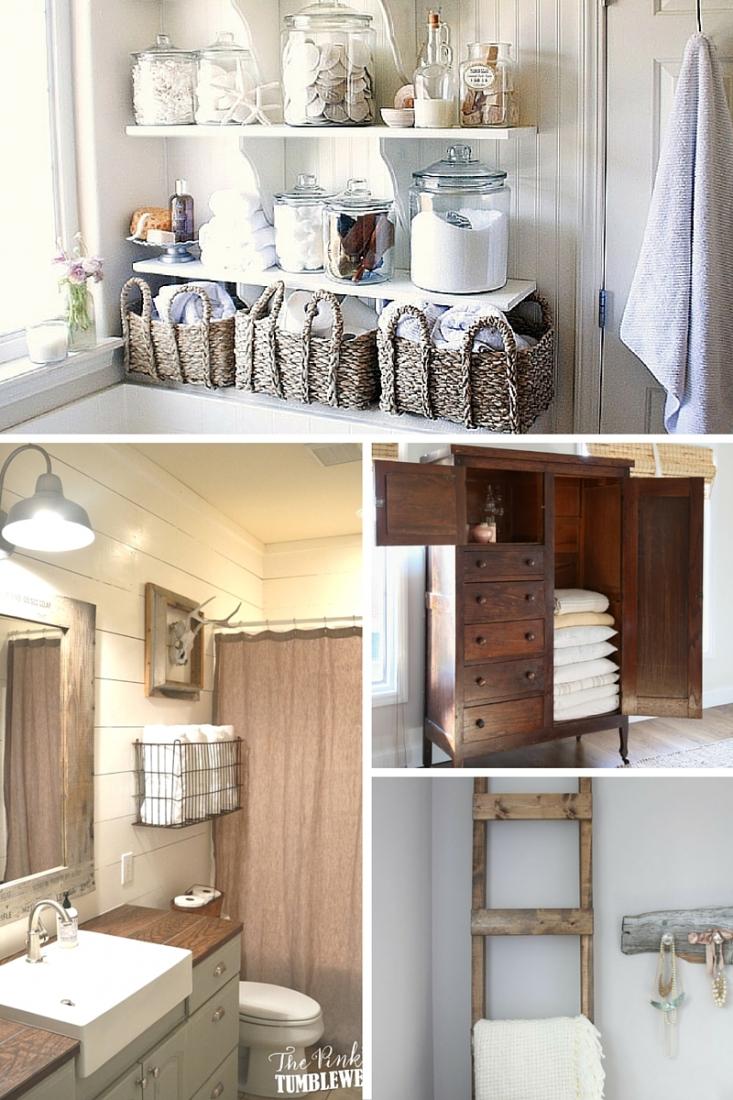 12 Pretty Linen Storage Ideas when you Don't have a Linen ...