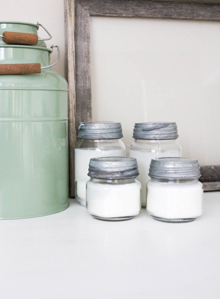 Simple and Pretty DIY Candles | www.makingitinthemountains.com