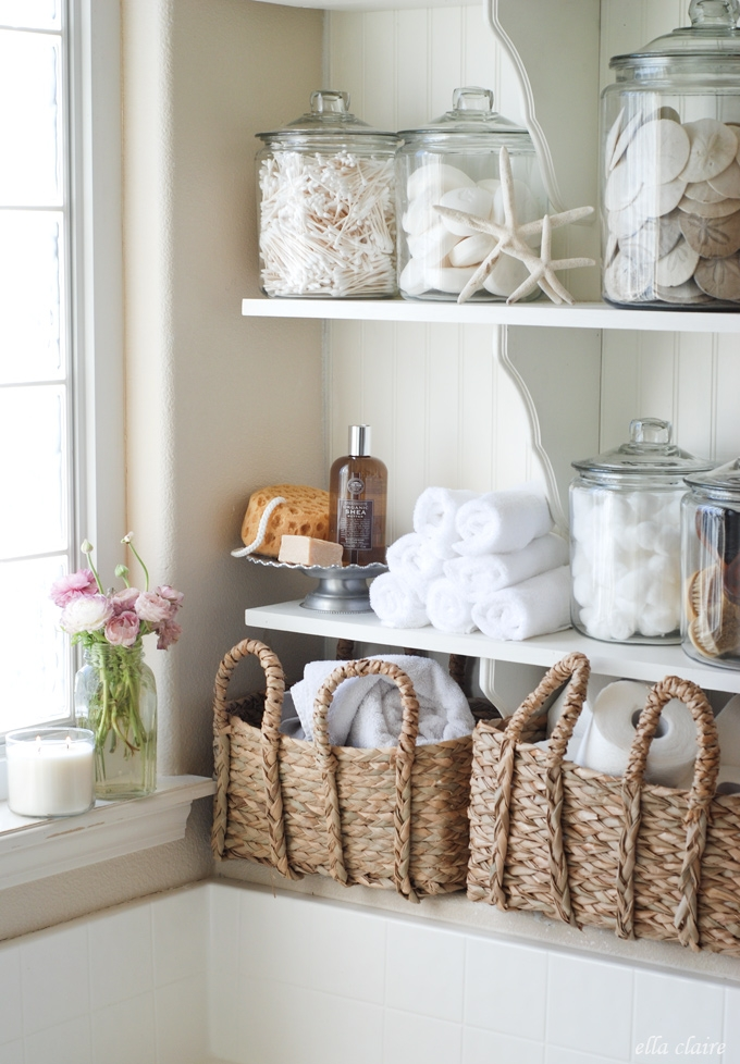 12 Pretty Linen Storage Ideas When You Dont Have A Linen