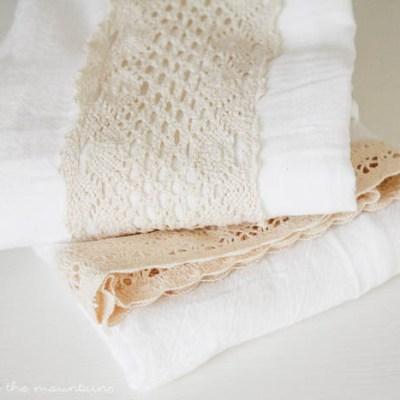 10 Minute Decorating: DIY Farmhouse Tea Towels