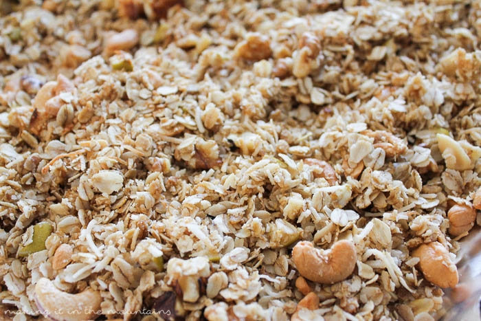LOVE granola? This easy granola recipe will have you wondering why you haven't been making your own all along!