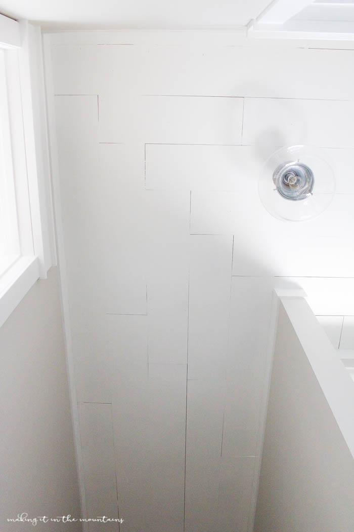 DIY Planked Ceiling   www.makingitinthemountains.com