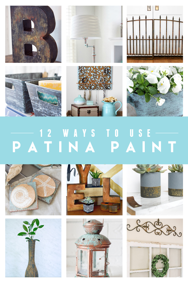 12 Beautiful ways to add {patina} with paint!  | www.makingitinthemountains.com