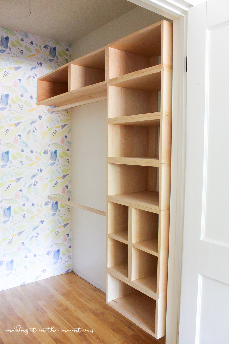 Diy custom closet organizer the brilliant box system making it in this brilliant diy custom closet organizer is not only easy to build but makes creating solutioingenieria