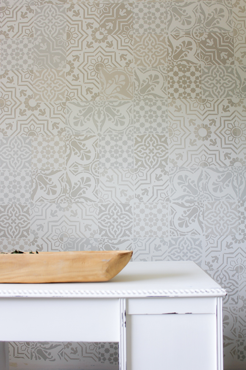 Monthly DIY Challenge: How to Get the Cement Tile Look for Less ...
