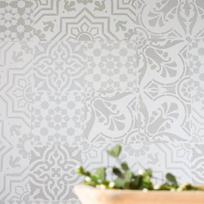 Monthly DIY Challenge: How to Get the Cement Tile Look for Less