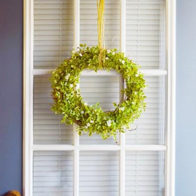 Simple Farmhouse Wreath