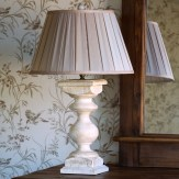 White Balustrade Lamp