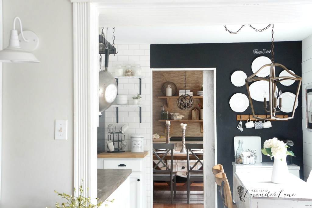Kitchen Chalkboard Wall