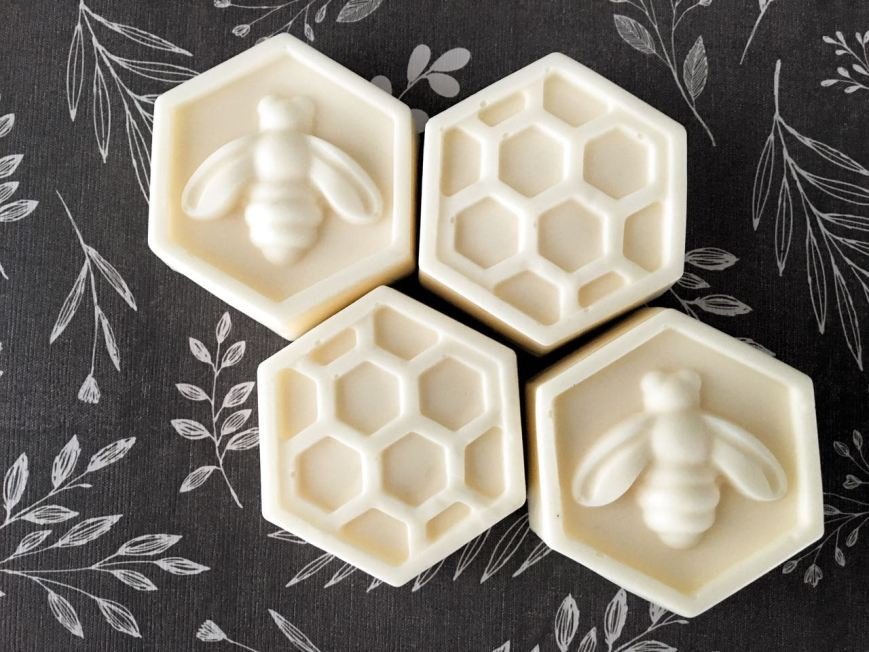 Homemade Bee Soaps