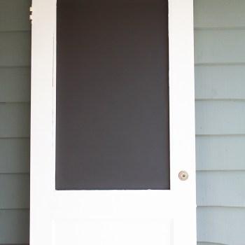 Vintage Door Chalkboard