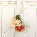 Fall Antler Wreath