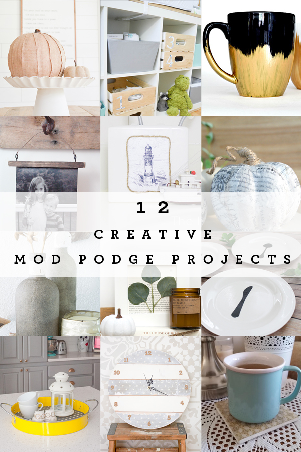12 creative and crafty ways to use Mod Podge