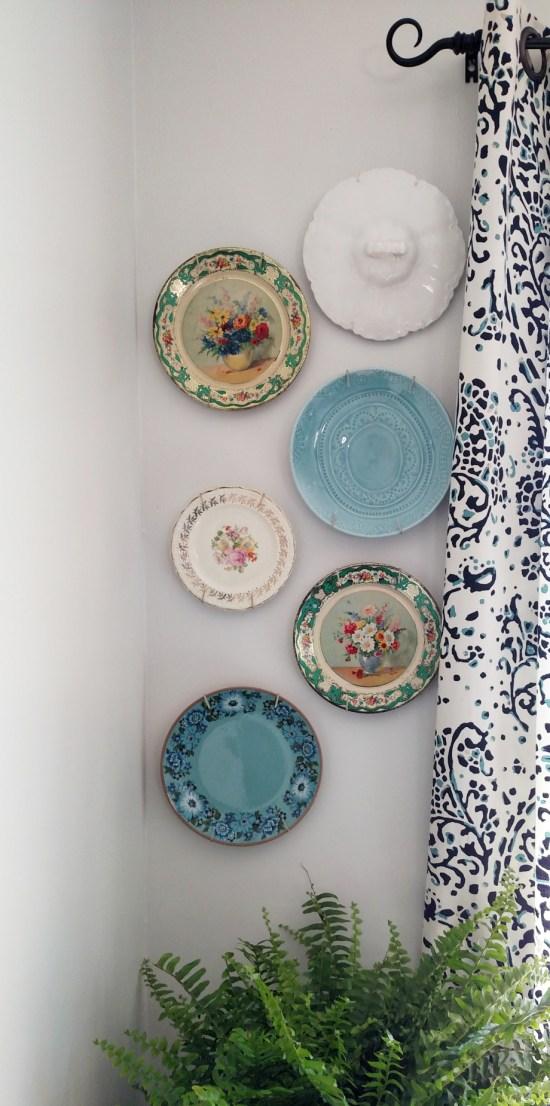 Vintage Plate Wall