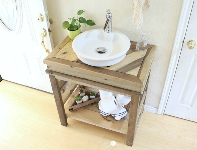 DIY Bathroom Vanity