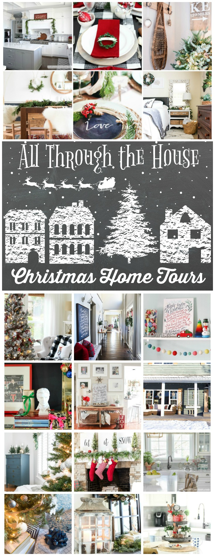 All Through the House Christmas Tours