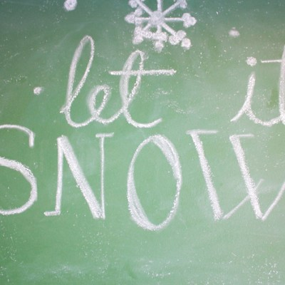How to Create a Winter Chalkboard: A Step-by-Step Guide