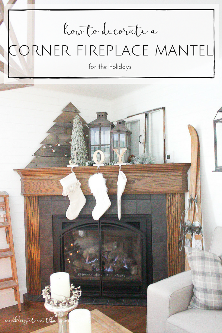 Fashion week Corner Decorating fireplace mantels pictures for woman
