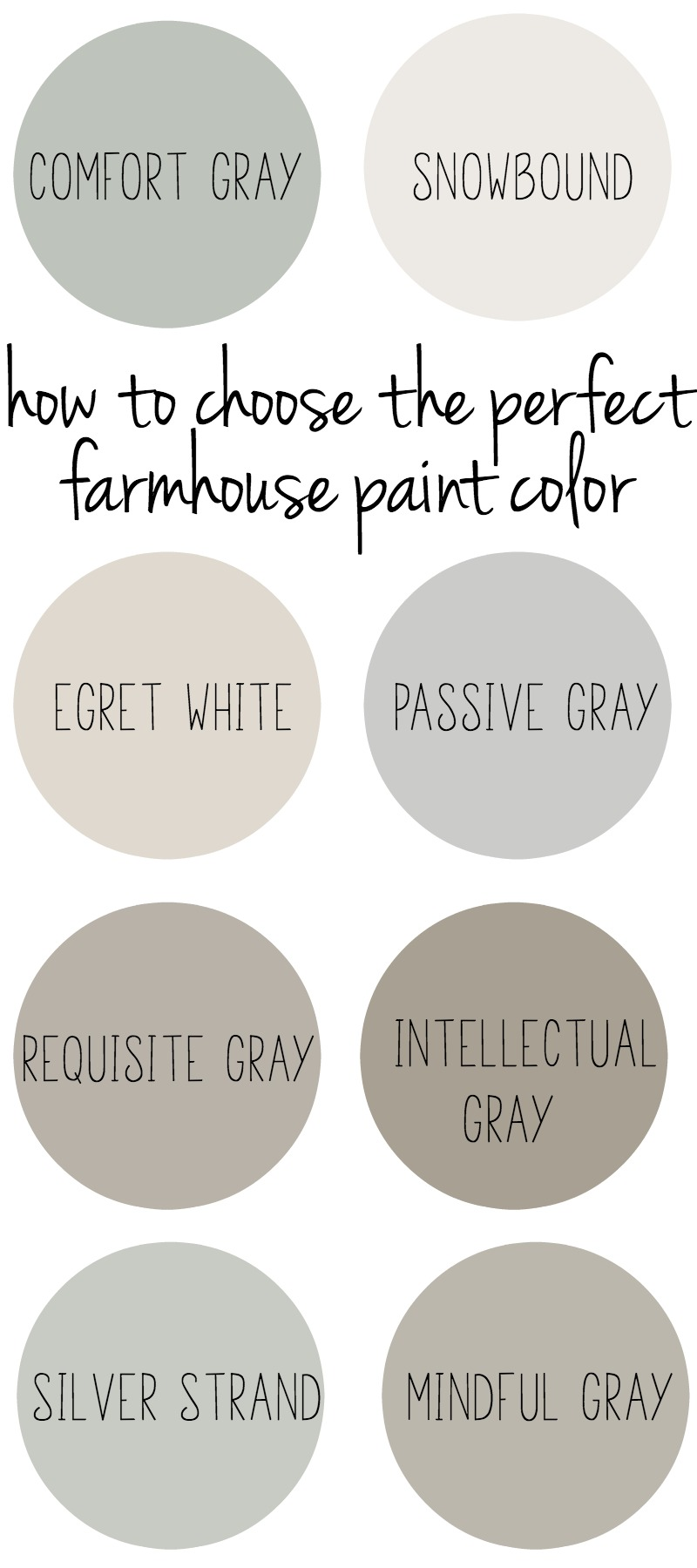 95 farmhouse color scheme sherwin williams sherwin for How to pick out paint colors for interior