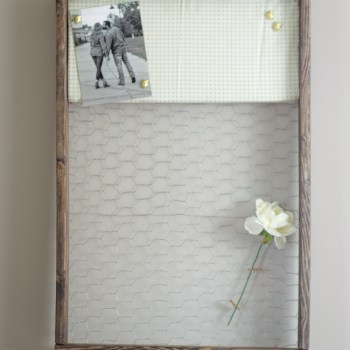 Industrial Farmhouse Pin Board
