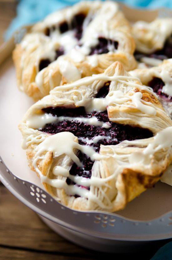 Bumbleberry Chia Pastries