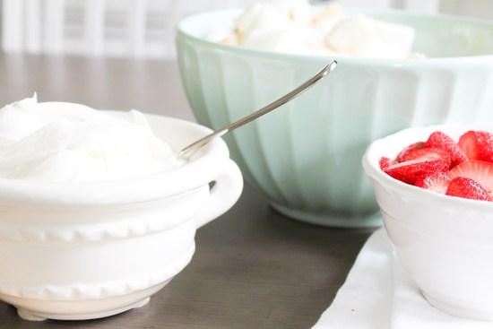 Red + White Summer Dessert