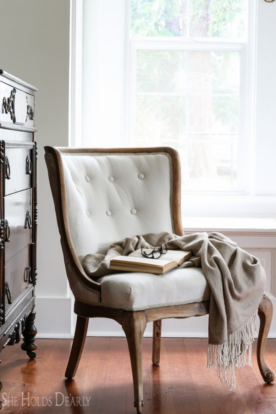 How to Reupholster an Antique Chair