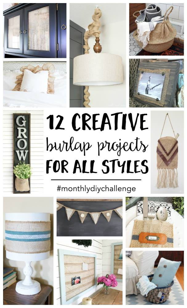 12 Creative Burlap Crafts