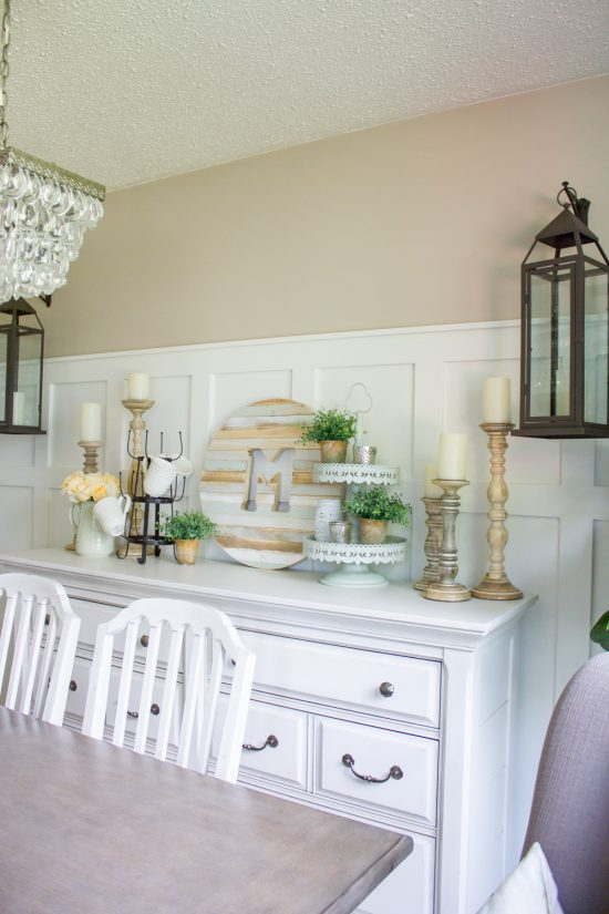 Summer Farmhouse Dining Room