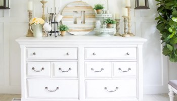 Farmhouse Home How To Style A Buffet