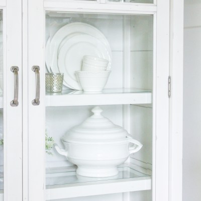 Farmhouse Home: How to Style a Farmhouse China Cabinet