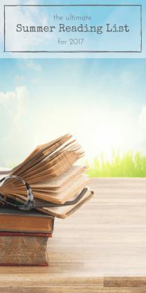 The ultimate Summer reading list for 2017 | www.makingitinthemountains.com