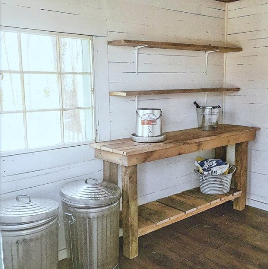 DIY Potting Shed