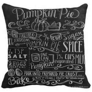 Pumpkin Pie Pillow