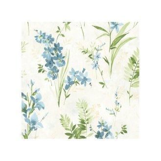 Rosemore+33'+x+20.5+Henrietta+Watercolor+Wallpaper+Roll