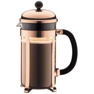 Copper French Press Coffee Maker