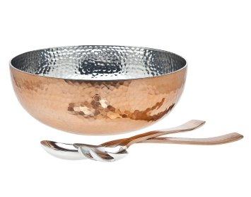 Copper Salad Bowl