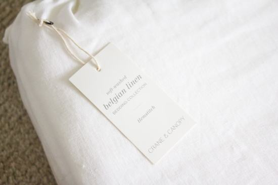 Farmhouse Guest Bedroom - Luxurious Linen Bedding