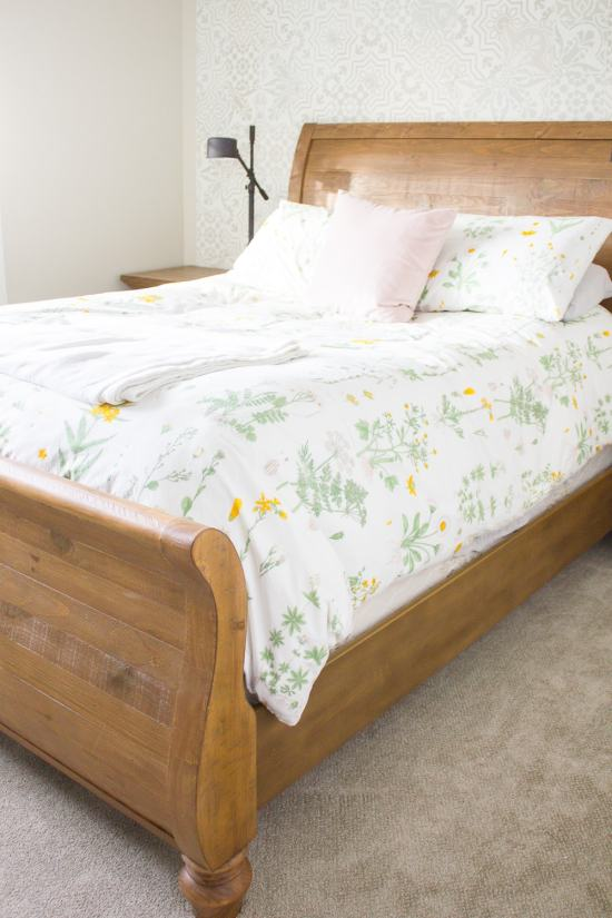 Farmhouse Guest Bedroom - New Furniture