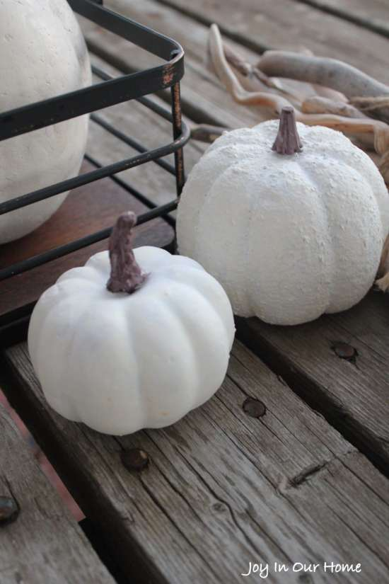 How to Make Faux Pumpkins look Real