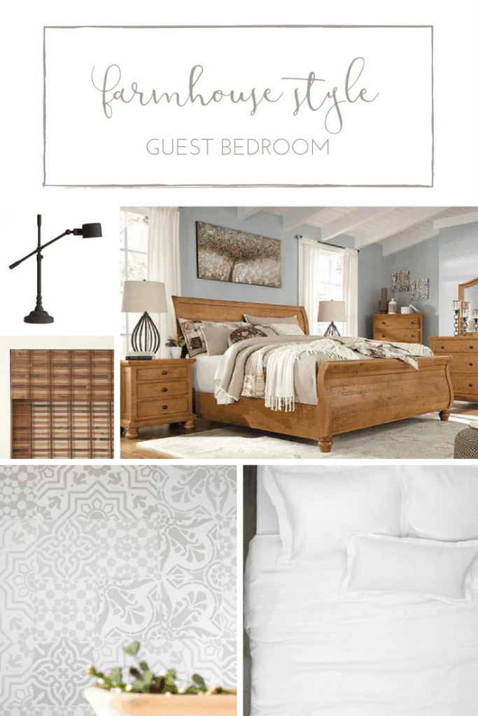 How to create a rustic, farmhouse style guest bedroom | www.makingitinthemountains.com