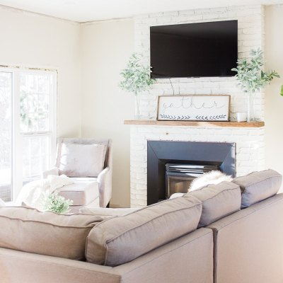 How to Design a Modern Farmhouse Living Room