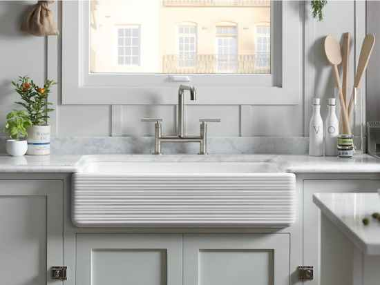 Cast Iron Apron Front Sink