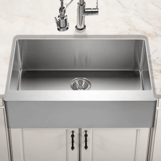 Stainless Apron Front Sink