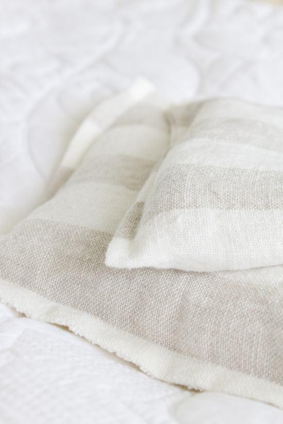 Linen rice bag