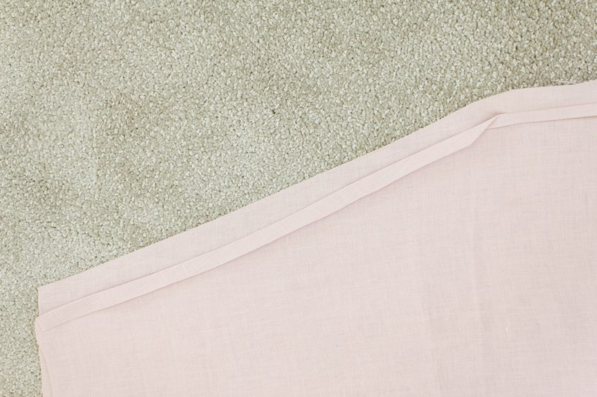linen sewing project