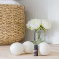 How to Scent Wool Dryer Balls with Essential Oils
